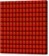 Red And Black Checkered Tablecloth Cloth Background Canvas Print