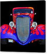 Red And Blue Custom Canvas Print