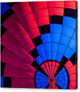 Red And Blue Pattern Canvas Print
