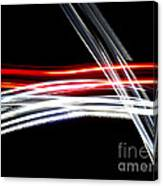 Red And Silver Canvas Print