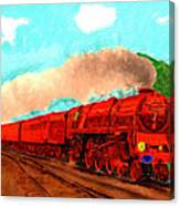 Red Ball Express Canvas Print