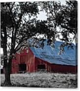 Red Barn 2 Canvas Print
