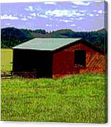 Red Barn Farm Canvas Print