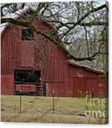 Red Barn Series Picture E Canvas Print