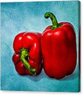 Red Bell Peppers Canvas Print