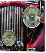 Red Bentley Grill Canvas Print