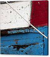 Red Blue White Canvas Print