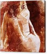Red Bracelet Canvas Print