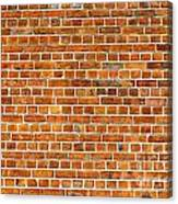 Red Brick Wall Texture Canvas Print