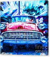 Red Buick  Canvas Print