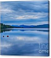 Red Buoys On Loch Rannoch Canvas Print