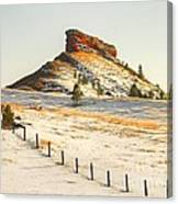 Red Butte Canvas Print