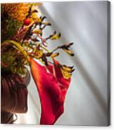 Red Cala Canvas Print
