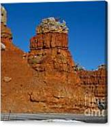 Red Canyon Dixie National Forest Canvas Print