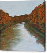Red Cedar River Canvas Print