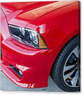 Red Charger 1508 Canvas Print