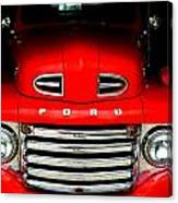 Red Cheeks Ford Canvas Print