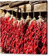 Red Chili Ristras Canvas Print