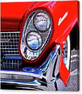 Red Hot Continental Palm Springs Canvas Print