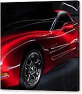 1997 Red Corvette Canvas Print