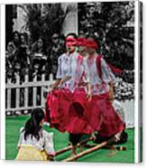 Red Dancing Canvas Print