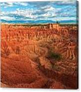 Red Desert Landscape Canvas Print