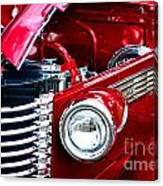 Red Devil Canvas Print