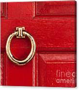 Red Door 01 Canvas Print
