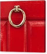 Red Door 02 Canvas Print