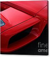 Red Enzo Canvas Print