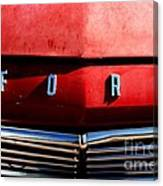Red Ford 1 Canvas Print