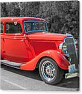 Red Ford 3d21740 Canvas Print