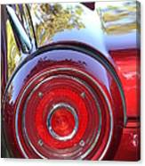 Red Ford Tailight Canvas Print