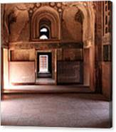 Red Fort Agra India Canvas Print