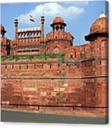 Red Fort New Delhi India Canvas Print
