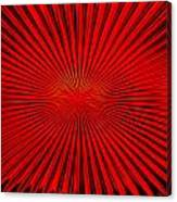 Red Glass Abstract 4 Canvas Print