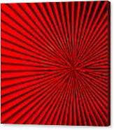 Red Glass Abstract 5 Canvas Print