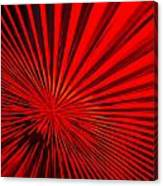 Red Glass Abstract 6 Canvas Print