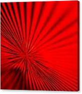 Red Glass Abstract 7 Canvas Print