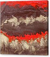Red Gold And Brown Abstract Canvas Print