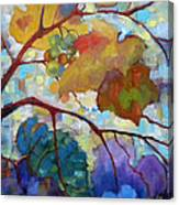 Red Grape Vines IIi Canvas Print