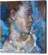 Red-head Study Canvas Print