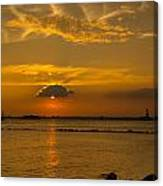 Red Hook Sunset 3 Canvas Print