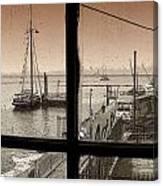 Red Hook Window Canvas Print