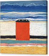 Red House, 1932 Oil On Canvas Canvas Print
