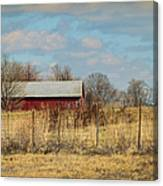 Red Kentucky Relic Canvas Print