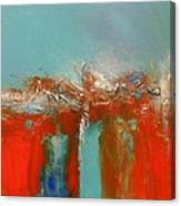 Red Landing Canvas Print