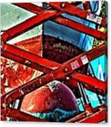 Red Lift Canvas Print