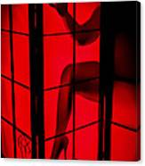 Red Light Canvas Print