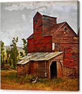 Red Mill Montana Canvas Print